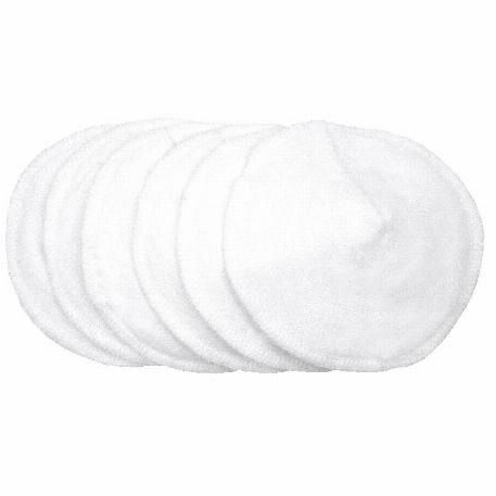Compresses d'allaitement lavables - paquet de 6