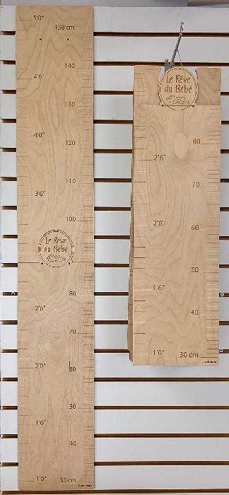 Échelle de croissance en bois