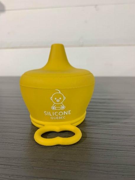 Bec en silicone - Moutarde