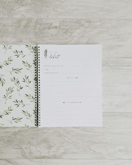 Mon journal de grossesse - Feuillage vert