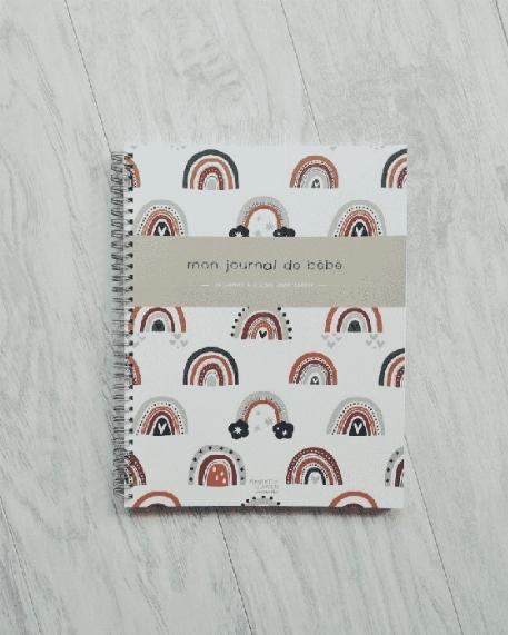 Mon journal de bébé - Arc-en-ciel