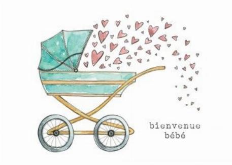Carte- Levi 1 - Bienvenue bébé