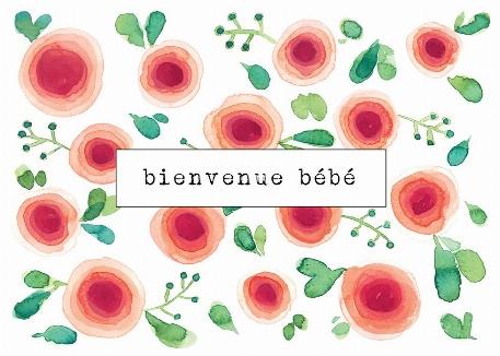 Carte- Abigaëlle 2 - Bienvenue Bébé