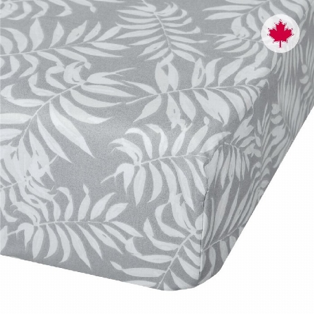 Draps couchette - Gris tropical
