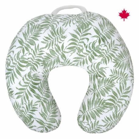 Coussin d'allaitement - Vert tropical