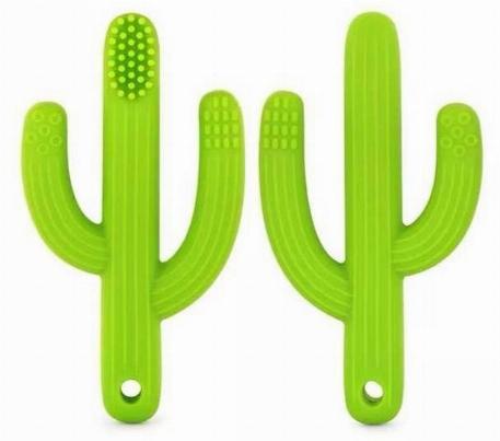 Brosse à dents/Jouet de dentition cactus