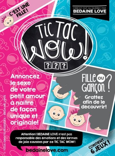 """Be Love - Tic Tac Wow!  """"C'est une fille!"""""""