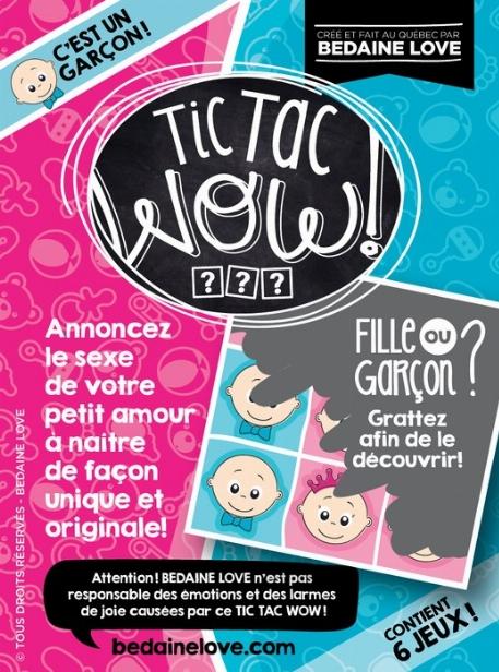 """Be Love - Tic Tac Wow!  """"C'est un garçon!"""""""