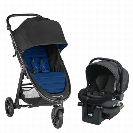 City Mini GT2 et City Go - Ensemble de transport, Bleu