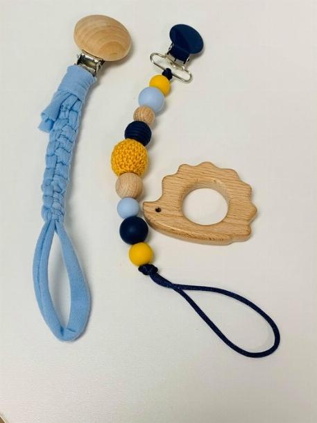 Boîte cadeau, attaches-suces, jouet en bois - La Chic Molaire