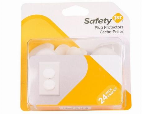 Cache-prises électriques, Paquet de 24 - Safety 1st