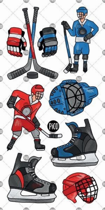Tatouages temporaires, La folie du Hockey - PICO