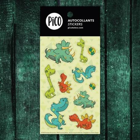 Pico- autocollants-Les dinosaures