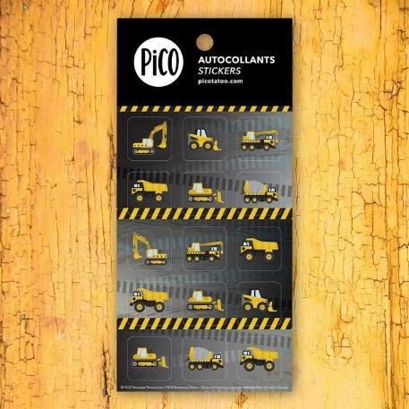 Pico- autocollants-Les camions