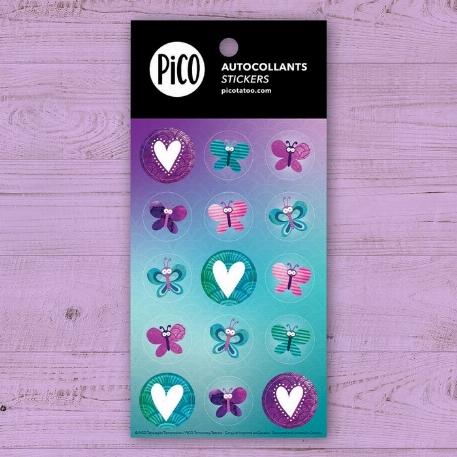 Pico- autocollants-Les jolis papillons