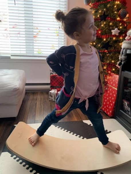 Planche d'équilibre - La Meublière