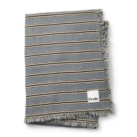 Couverture en coton - Sandy stripe | Elodie Details