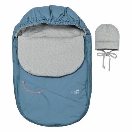 Couvre-siège d'auto mi-saison - Bleu | Perlimpinin