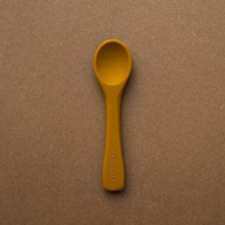 Cuillère en silicone - Ocre | Minika