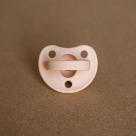 Suce en silicone 0-12 mois - Blush | Minika