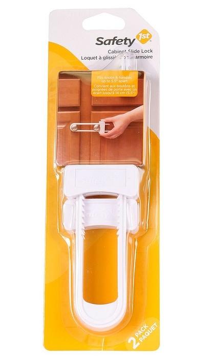 Locket à glissière pour armoire, Paquet de 2 - Safety 1st