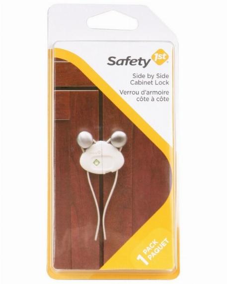 Verrou d'armoie cote à cote, Paquet de 1 - Safety 1st