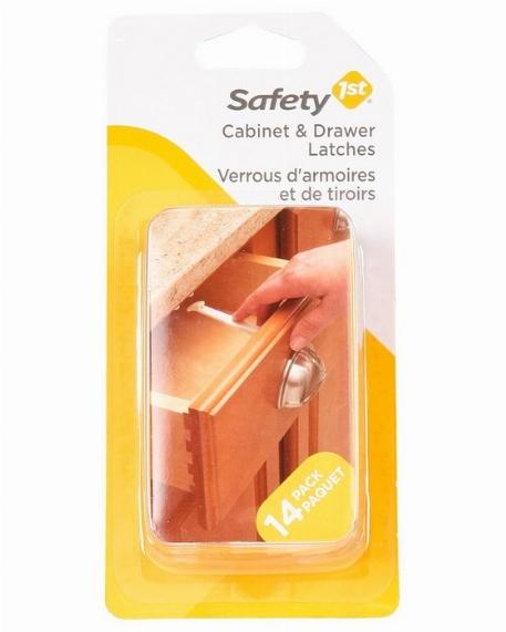 Verrous d'armoires & de tiroirs, Paquet de 14 - Safety 1st