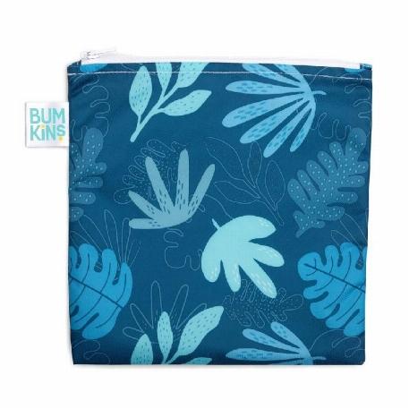Sac à collation - Bleu tropical   Bumkins