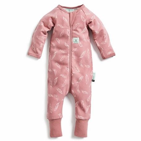 Pyjamas en bambou, Plumes roses - ErgoPouch