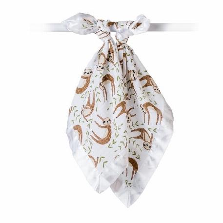 Lulujo - Couvertures mousseline de coton - Modern Sloth