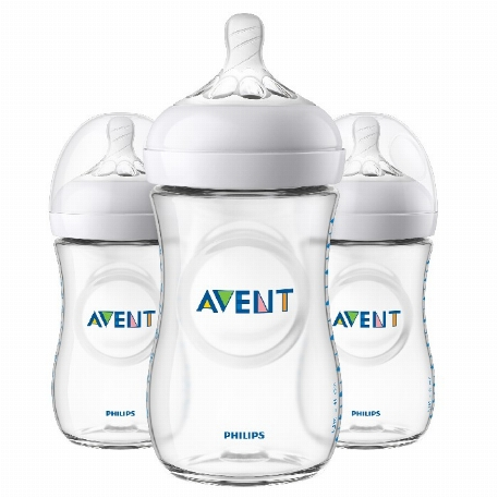Philips AVENT -Biberon naturel 9oz- Paquet de 3