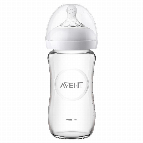 Biberon naturel en verre - 8 oz | Philips Avent