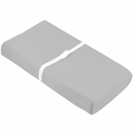 Drap contour en flanelle pour table à langer/ouverture sangles